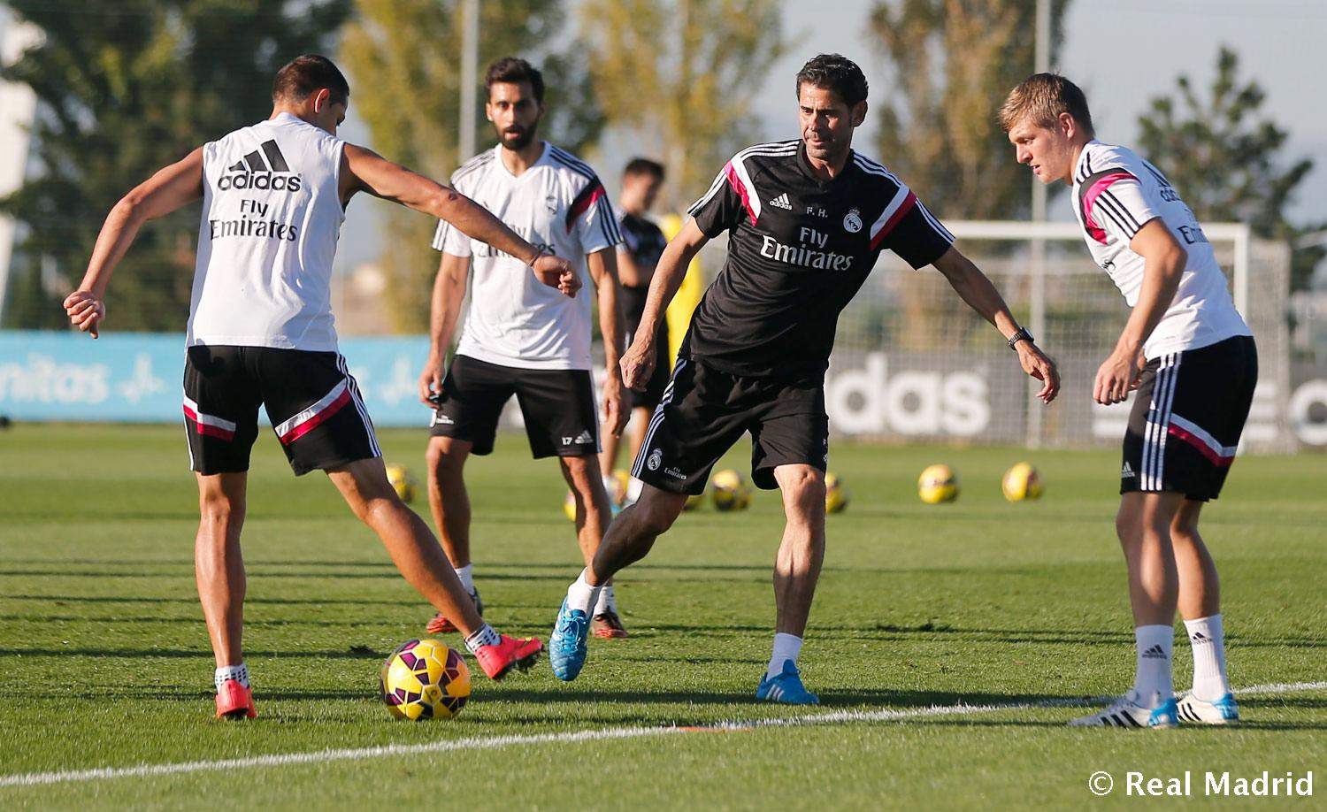Real Madrid - Entrenamiento del Real Madrid - 31-10-2014