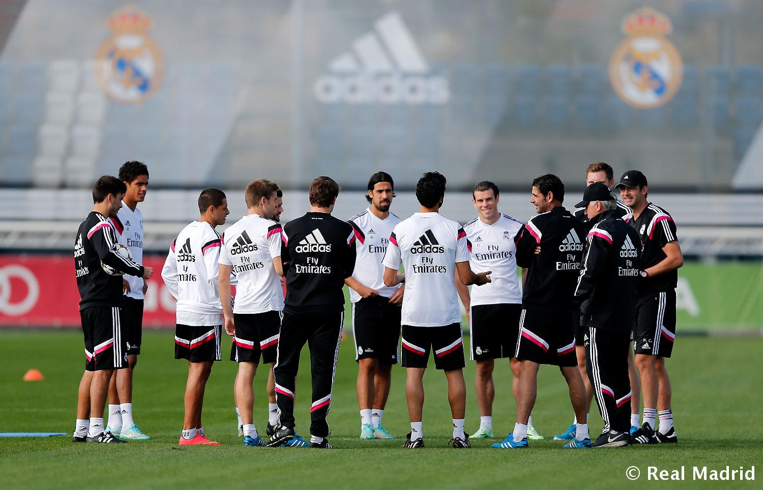 Real Madrid - Entrenamiento del Real Madrid - 02-11-2014