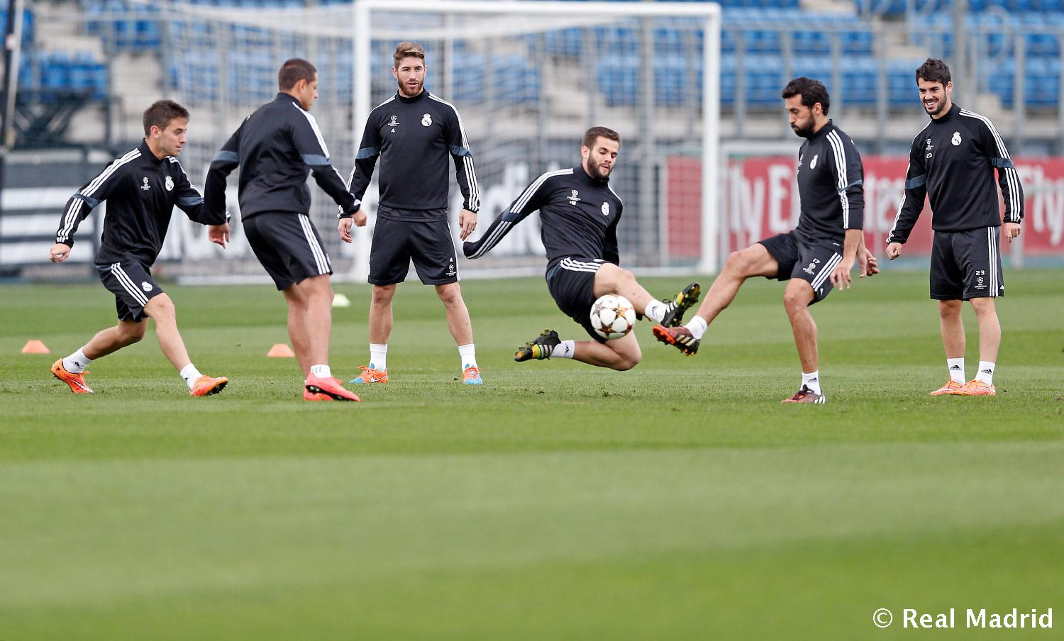 Real Madrid - Entrenamiento del Real Madrid - 03-11-2014