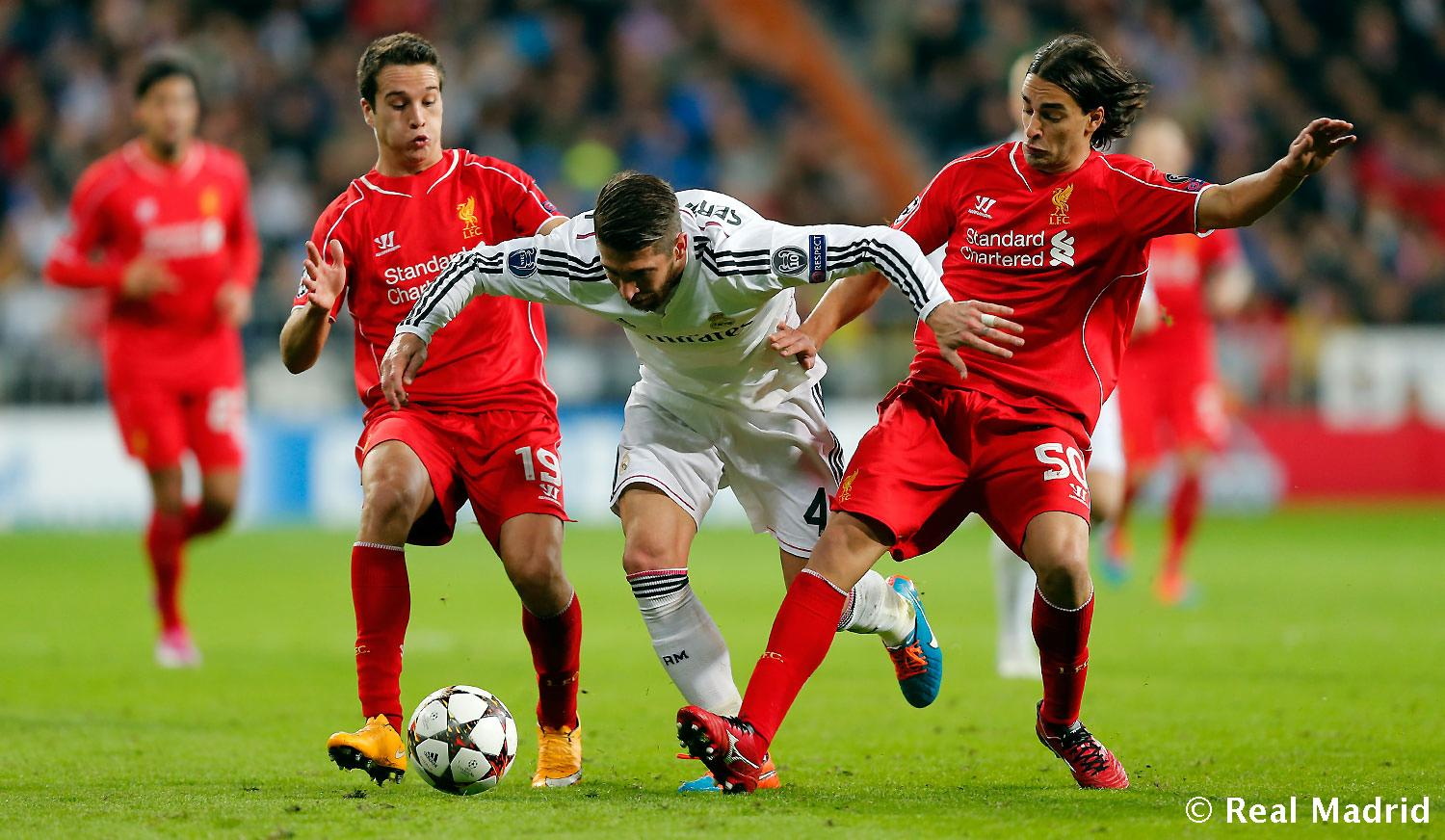 Real Madrid - Real Madrid - Liverpool - 04-11-2014