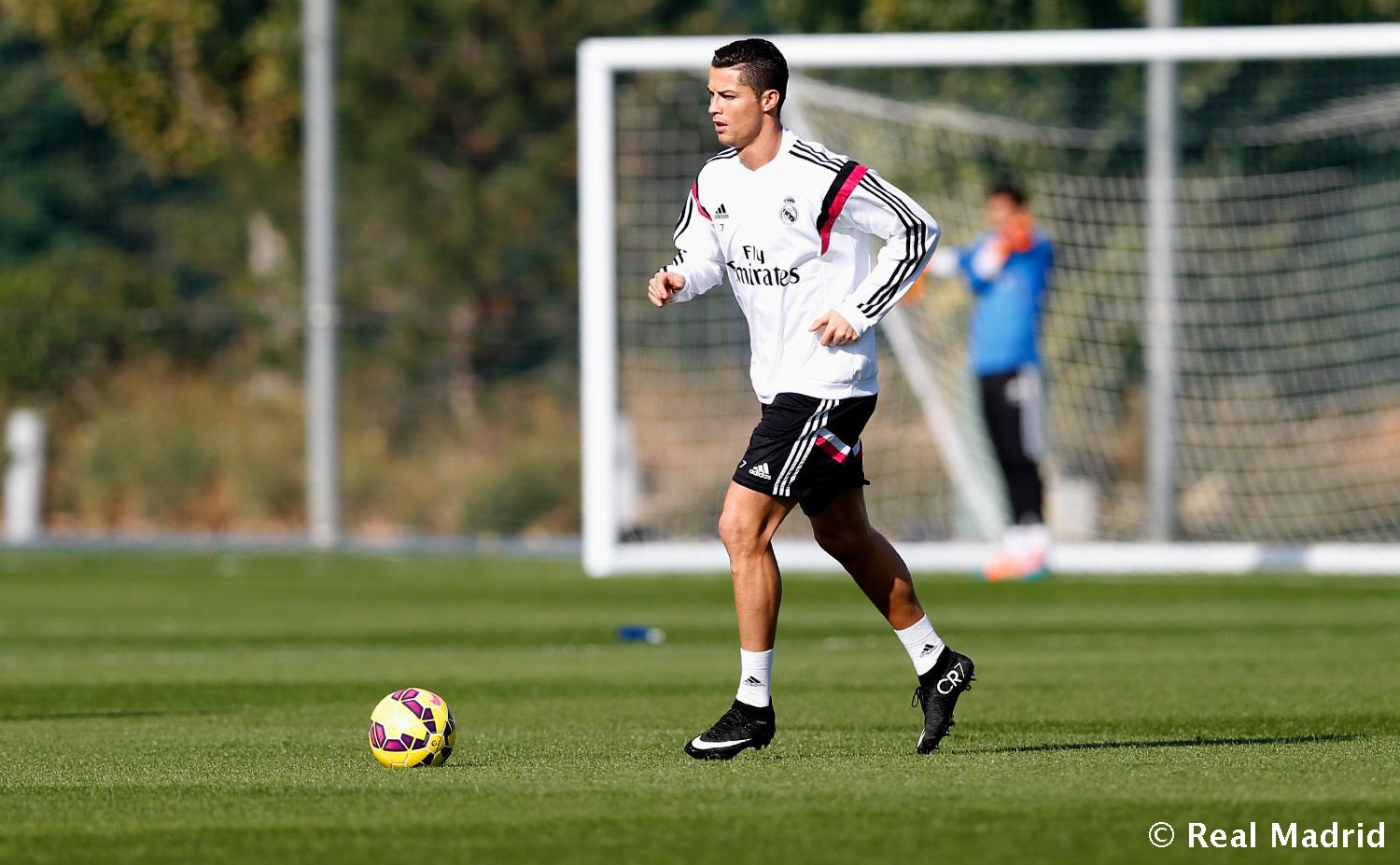 Real Madrid - Entrenamiento del Real Madrid - 06-11-2014