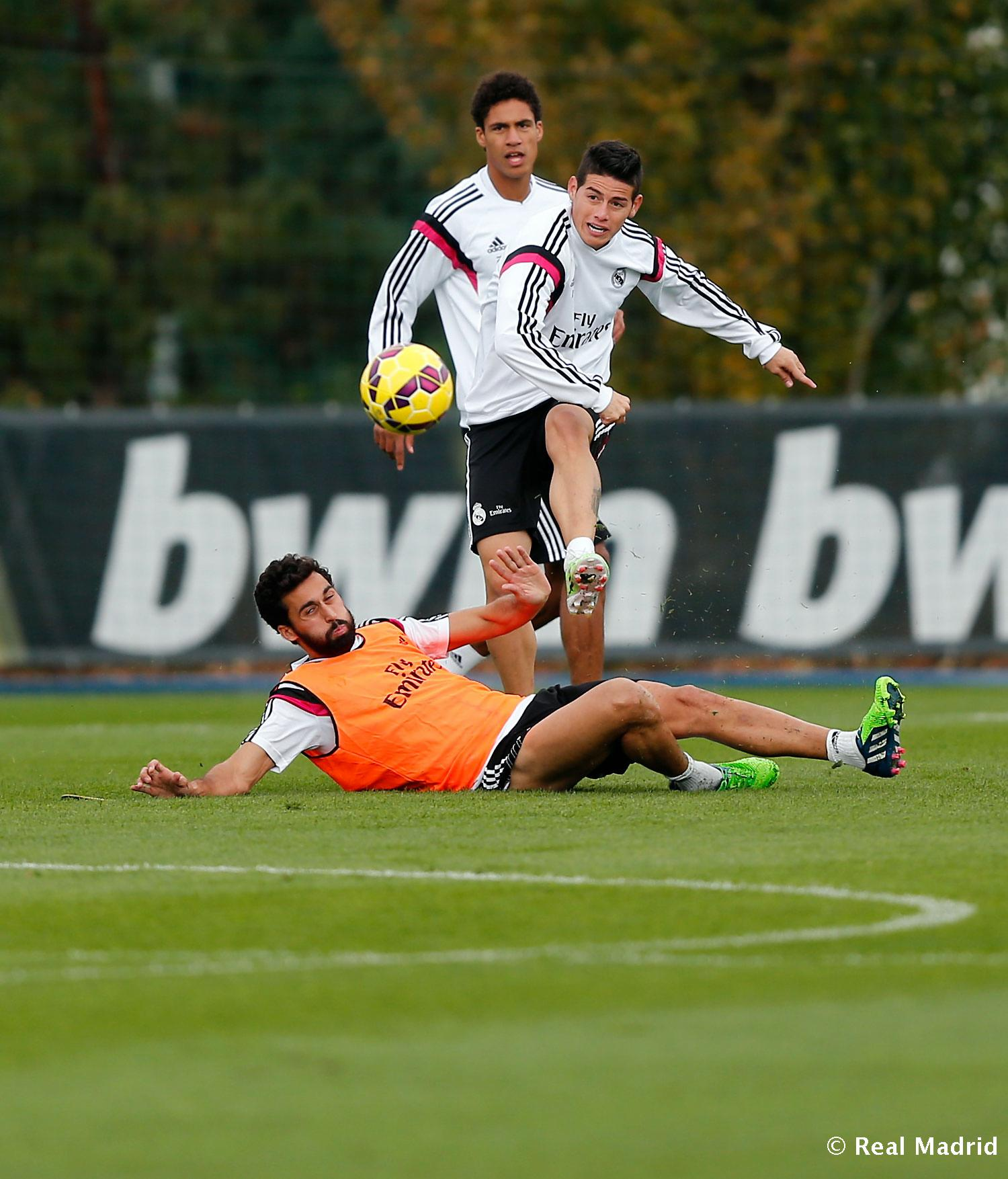 Real Madrid - Entrenamiento del Real Madrid - 07-11-2014