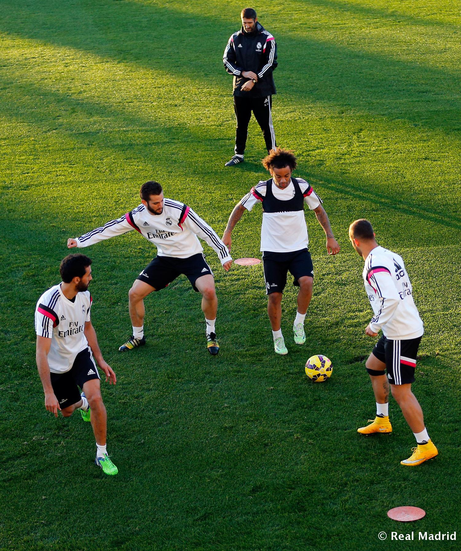 Real Madrid - Entrenamiento del Real Madrid - 11-11-2014