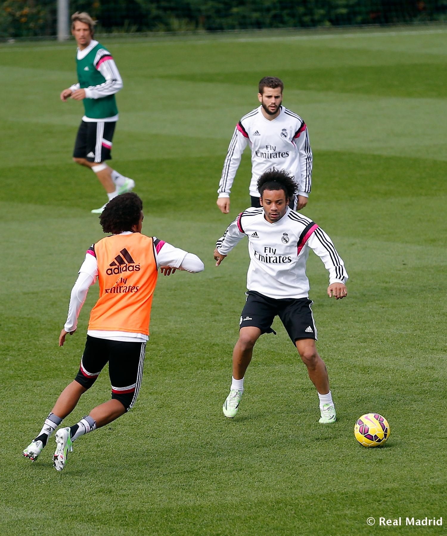 Real Madrid - Entrenamiento del Real Madrid - 12-11-2014