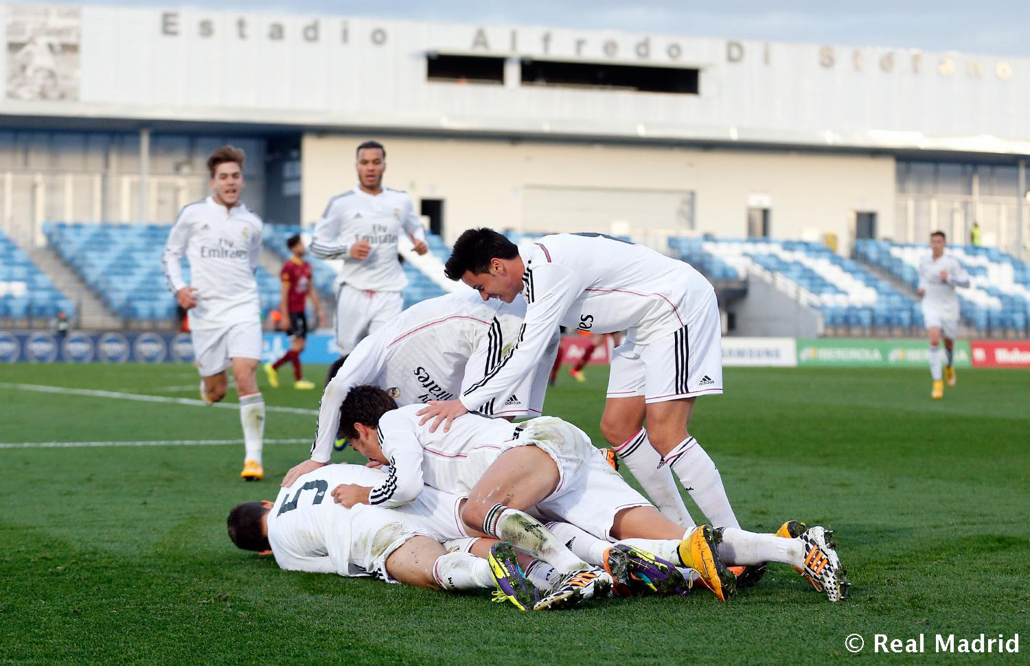 Real Madrid - Real Madrid Castilla - Conquense - 16-11-2014