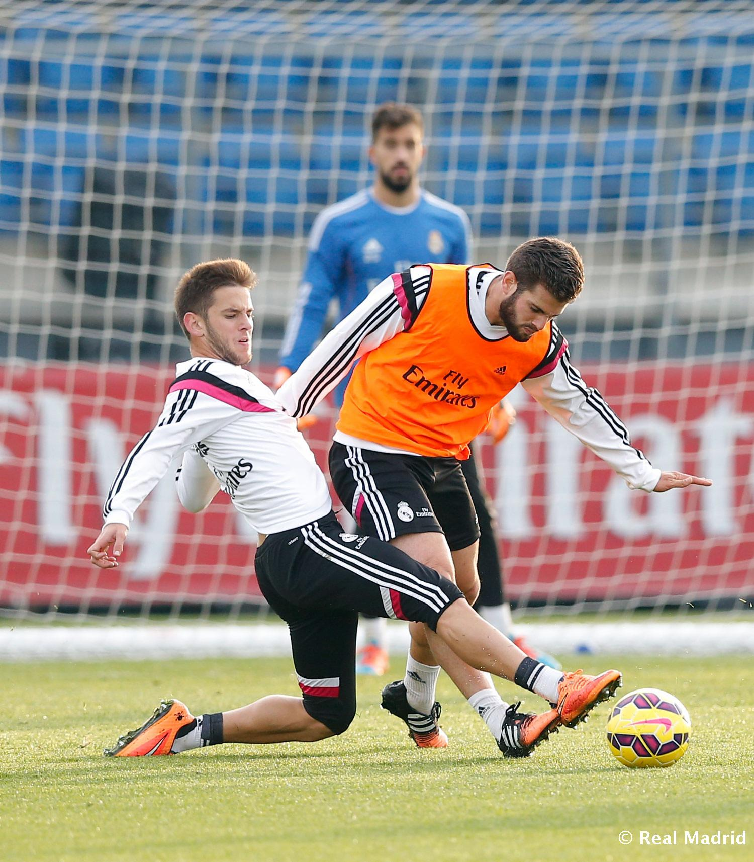 Real Madrid - Entrenamiento del Real Madrid - 18-11-2014
