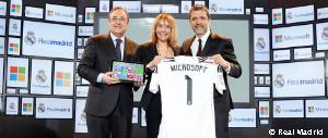 Real Madrid unveil agreement with Microsoft