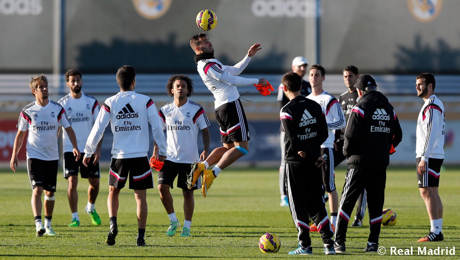 Real Madrid - Entrenamiento del Real Madrid - 19-11-2014