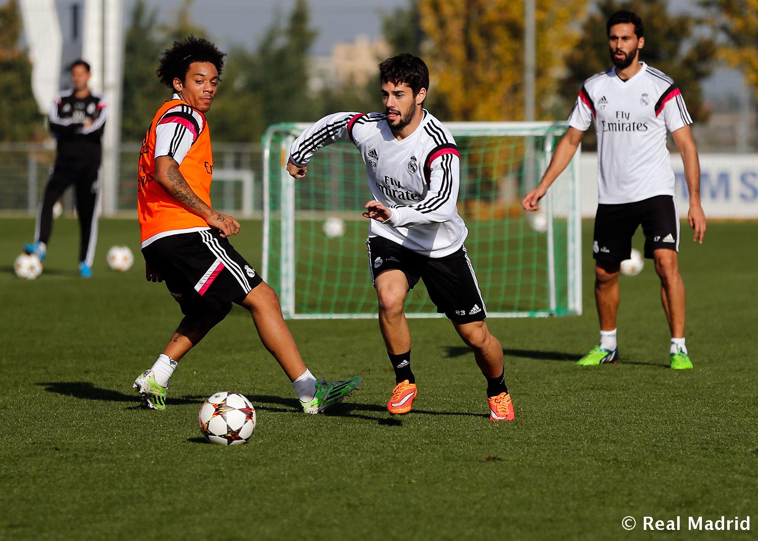 Real Madrid - Entrenamiento del Real Madrid - 24-11-2014