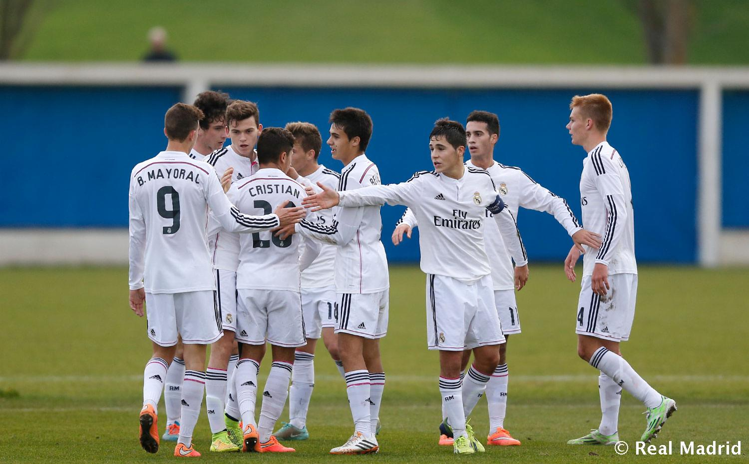 Real Madrid - Basilea - Juvenil A - 26-11-2014