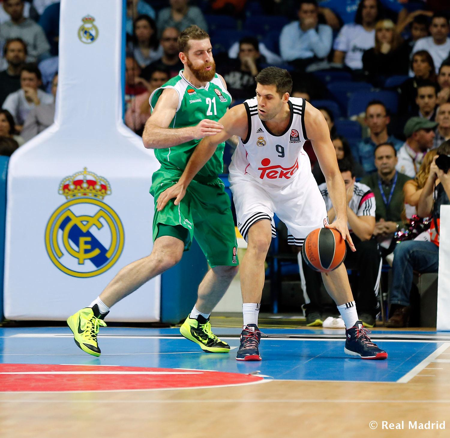 Real Madrid - Real Madrid - Unics Kazán - 27-11-2014