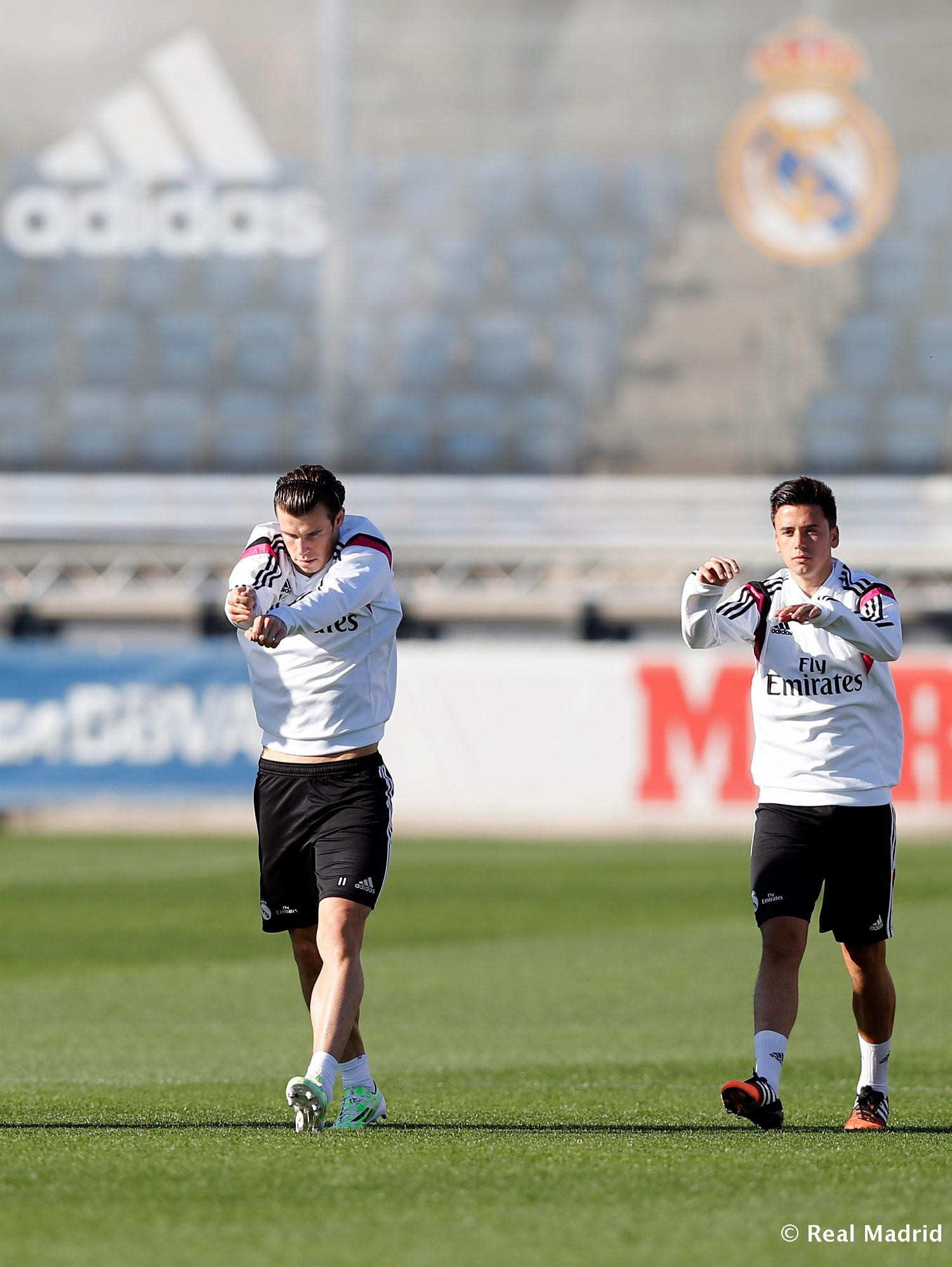 Real Madrid - Entrenamiento del Real Madrid - 01-12-2014
