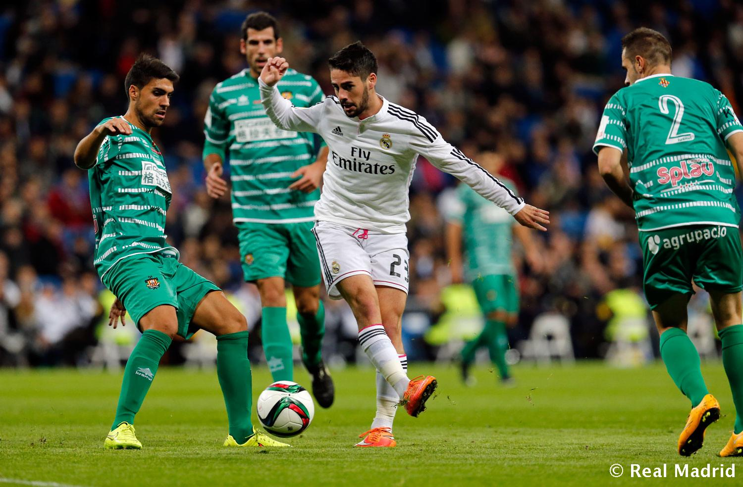 Real Madrid - Real Madrid - Cornellà - 02-12-2014