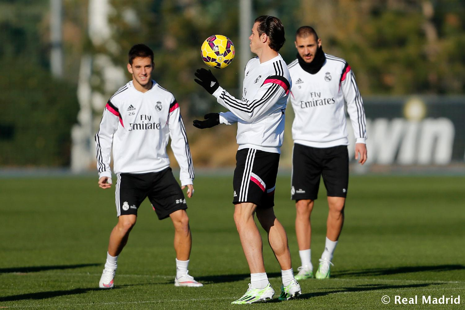 Real Madrid - Entrenamiento del Real Madrid - 05-12-2014