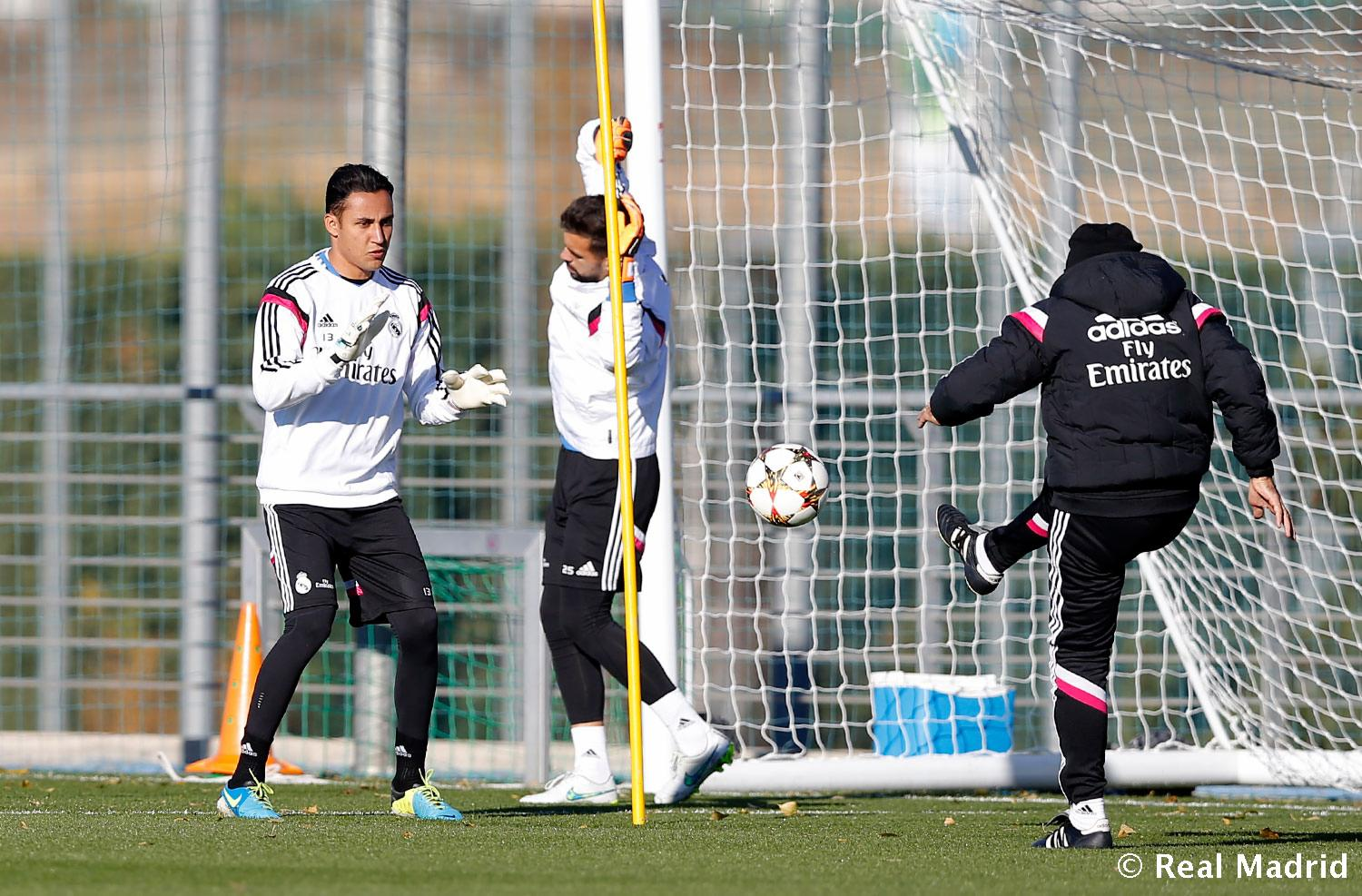 Real Madrid - Entrenamiento del Real Madrid - 07-12-2014