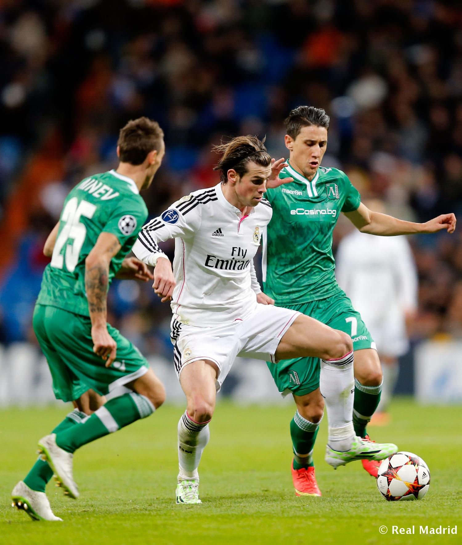 Real Madrid - Real Madrid - Ludogorets - 09-12-2014