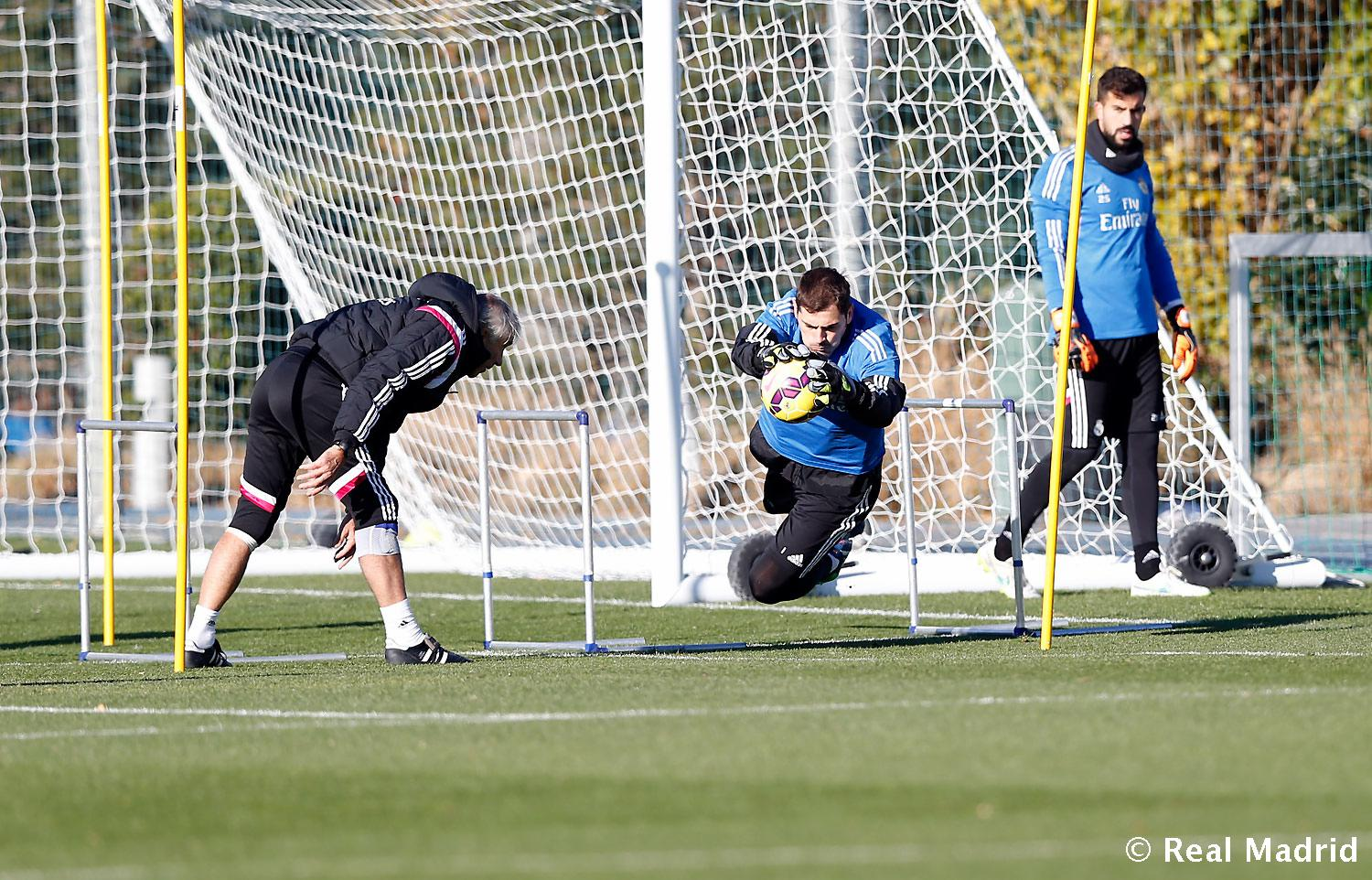Real Madrid - Entrenamiento del Real Madrid - 10-12-2014
