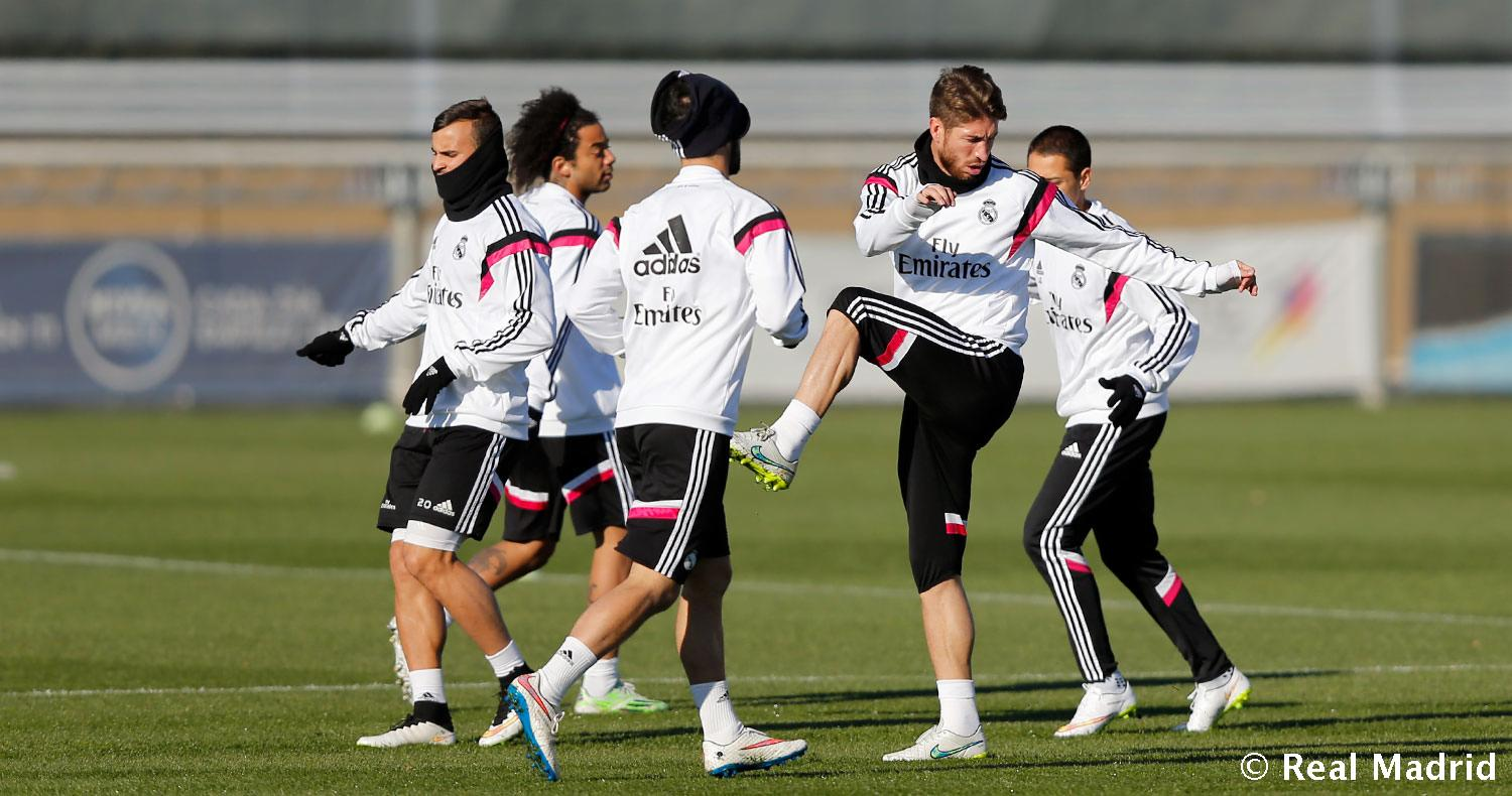 Real Madrid - Entrenamiento del Real Madrid - 11-12-2014