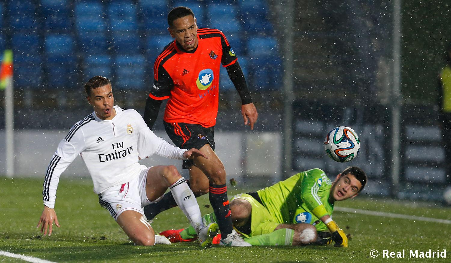 Real Madrid - Real Madrid Castilla - Real Sociedad B - 13-12-2014