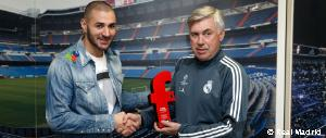 Benzema, best French player of the year