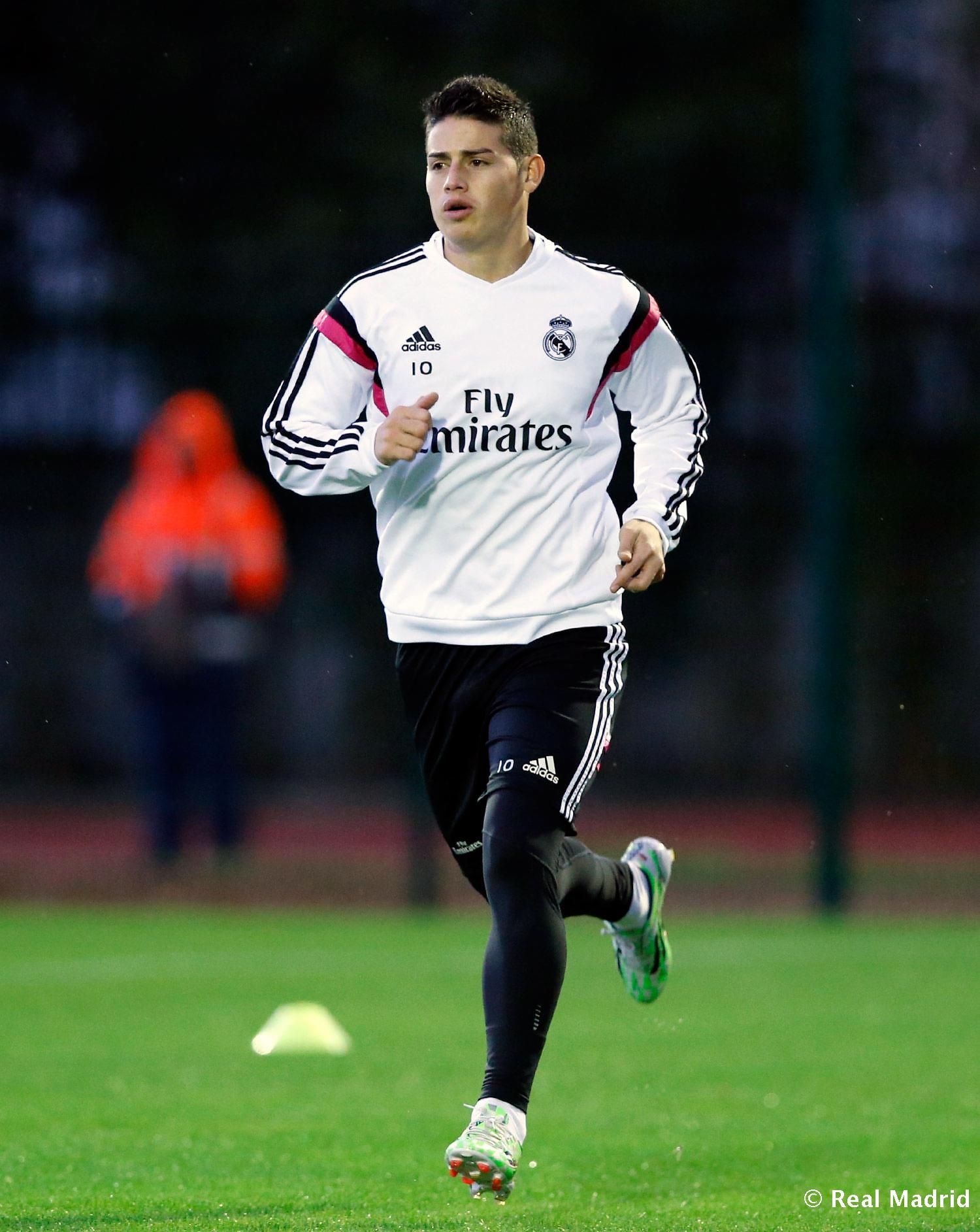 Real Madrid - Entrenamiento del Real Madrid - 15-12-2014