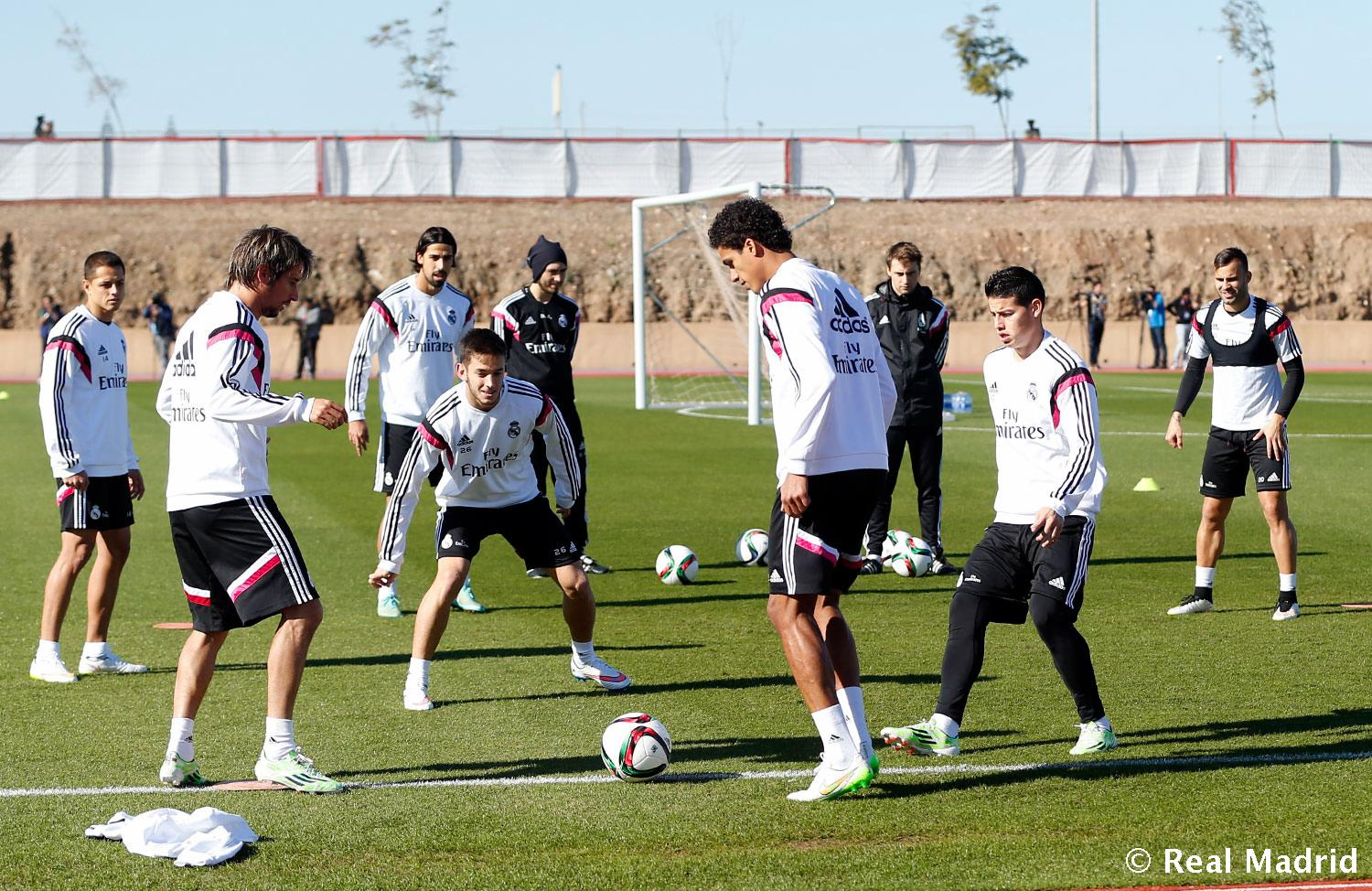 Real Madrid - Entrenamiento del Real Madrid - 17-12-2014