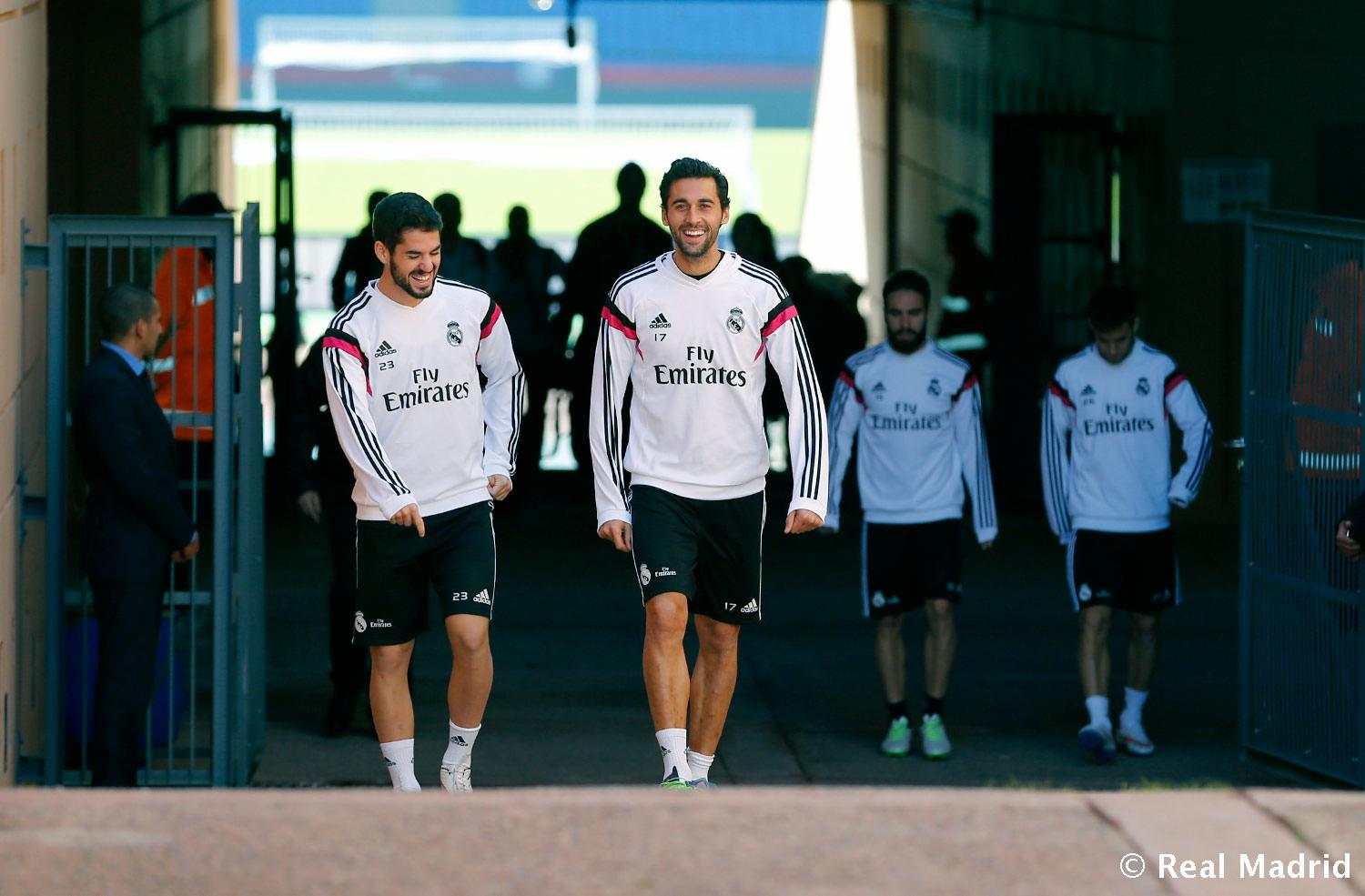 Real Madrid - Entrenamiento del Real Madrid - 18-12-2014