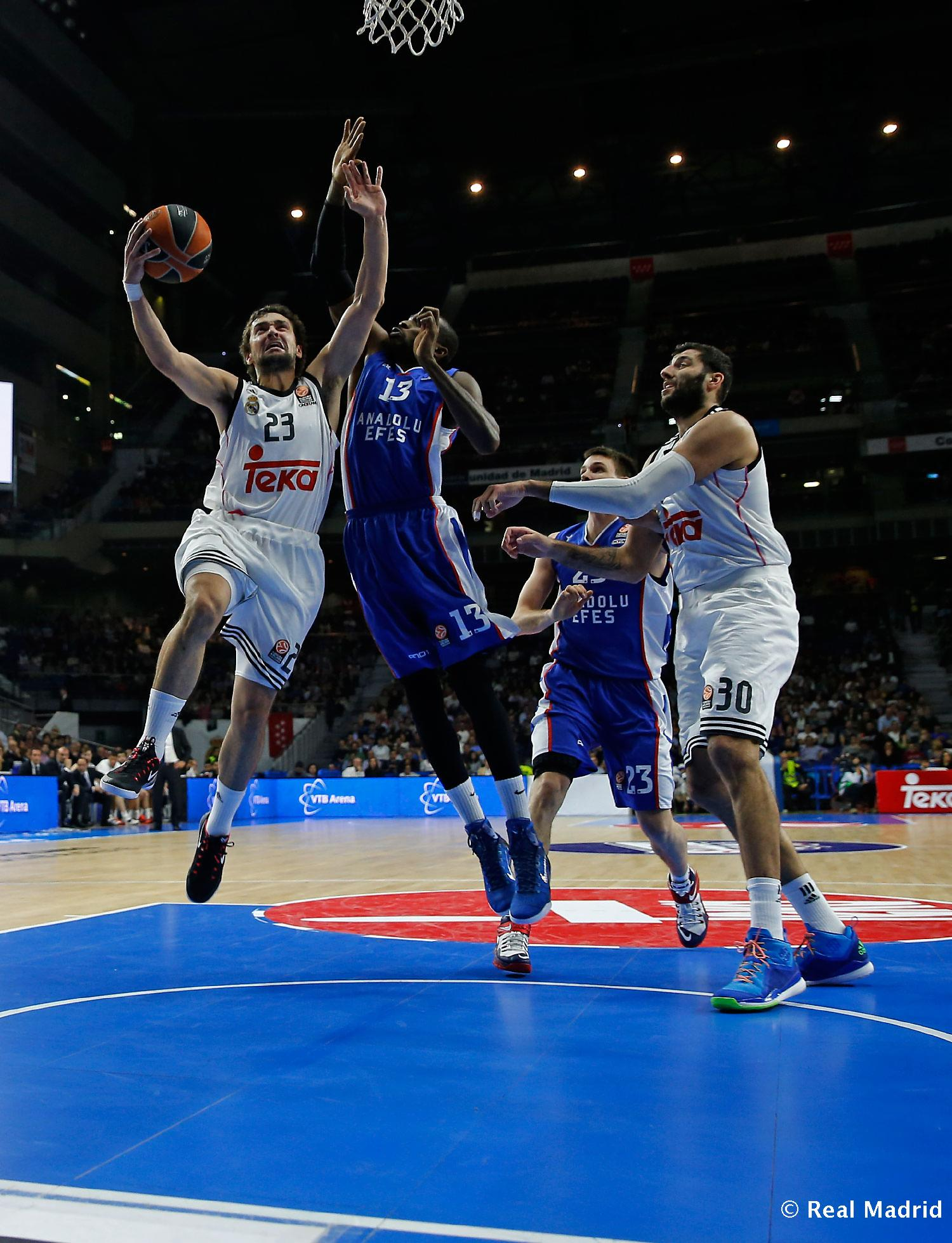 Real Madrid - Real Madrid - Anadolu Efes - 18-12-2014