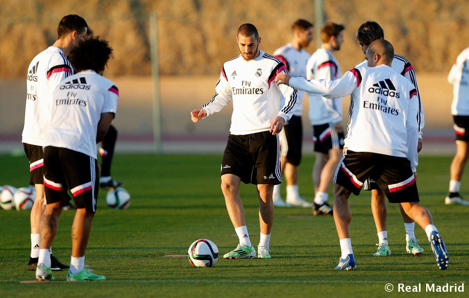 Real Madrid - Entrenamiento del Real Madrid - 19-12-2014