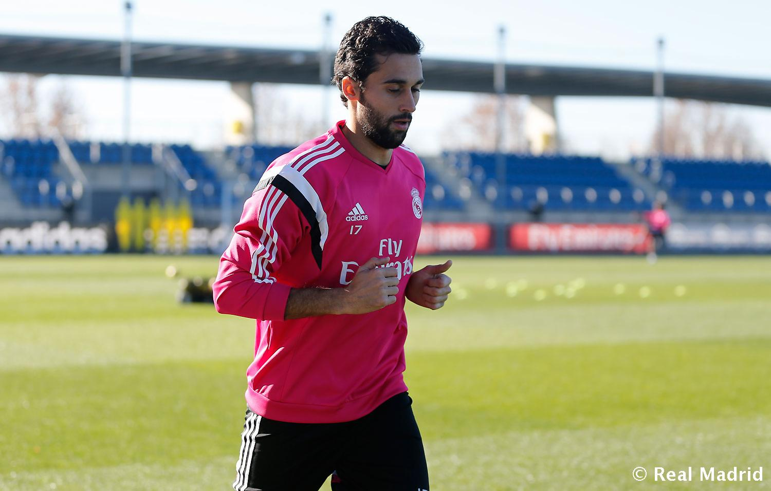 Real Madrid - Entrenamiento del Real Madrid - 31-12-2014