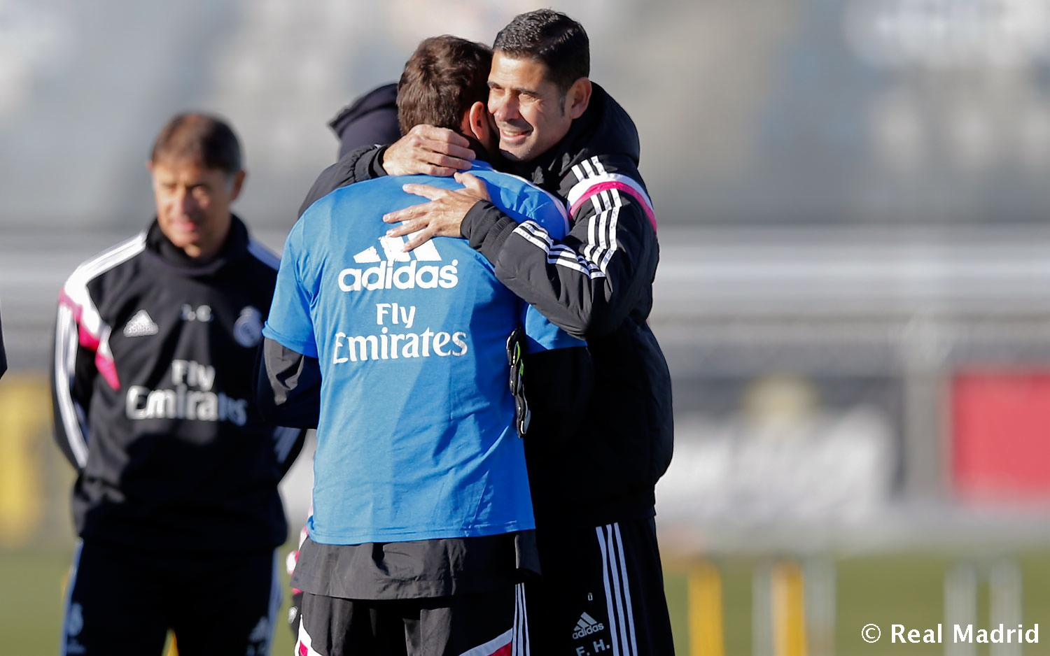 Real Madrid - Entrenamiento del Real Madrid - 02-01-2015