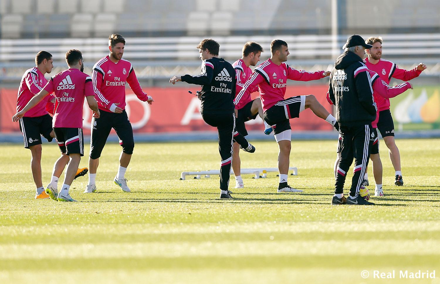 Real Madrid - Entrenamiento del Real Madrid - 03-01-2015