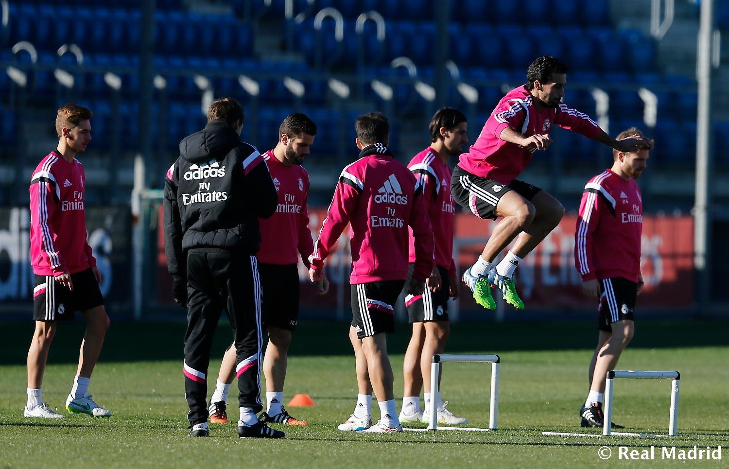 Real Madrid - Entrenamiento del Real Madrid - 05-01-2015