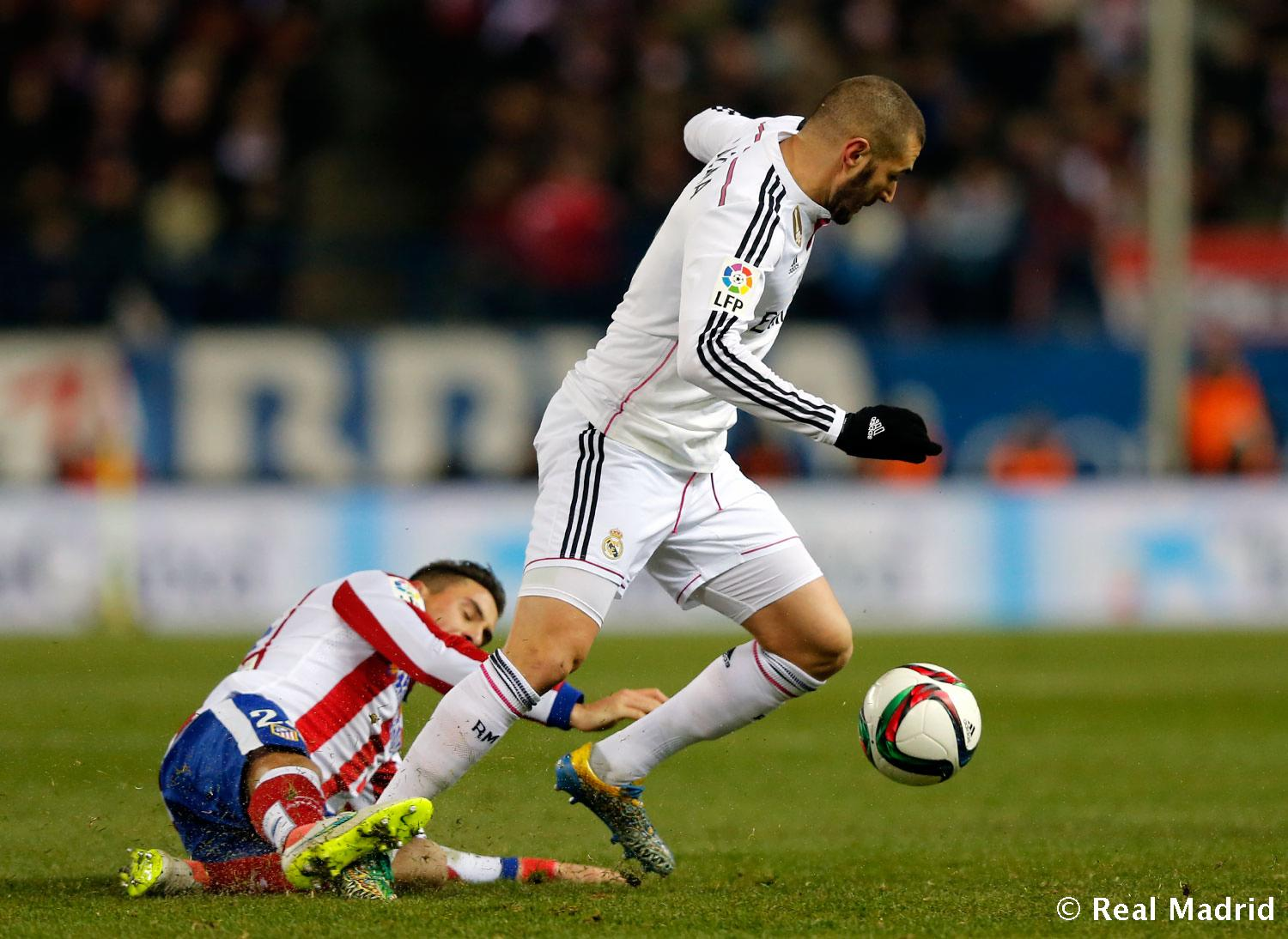 Real Madrid - Atlético de Madrid - Real Madrid - 07-01-2015