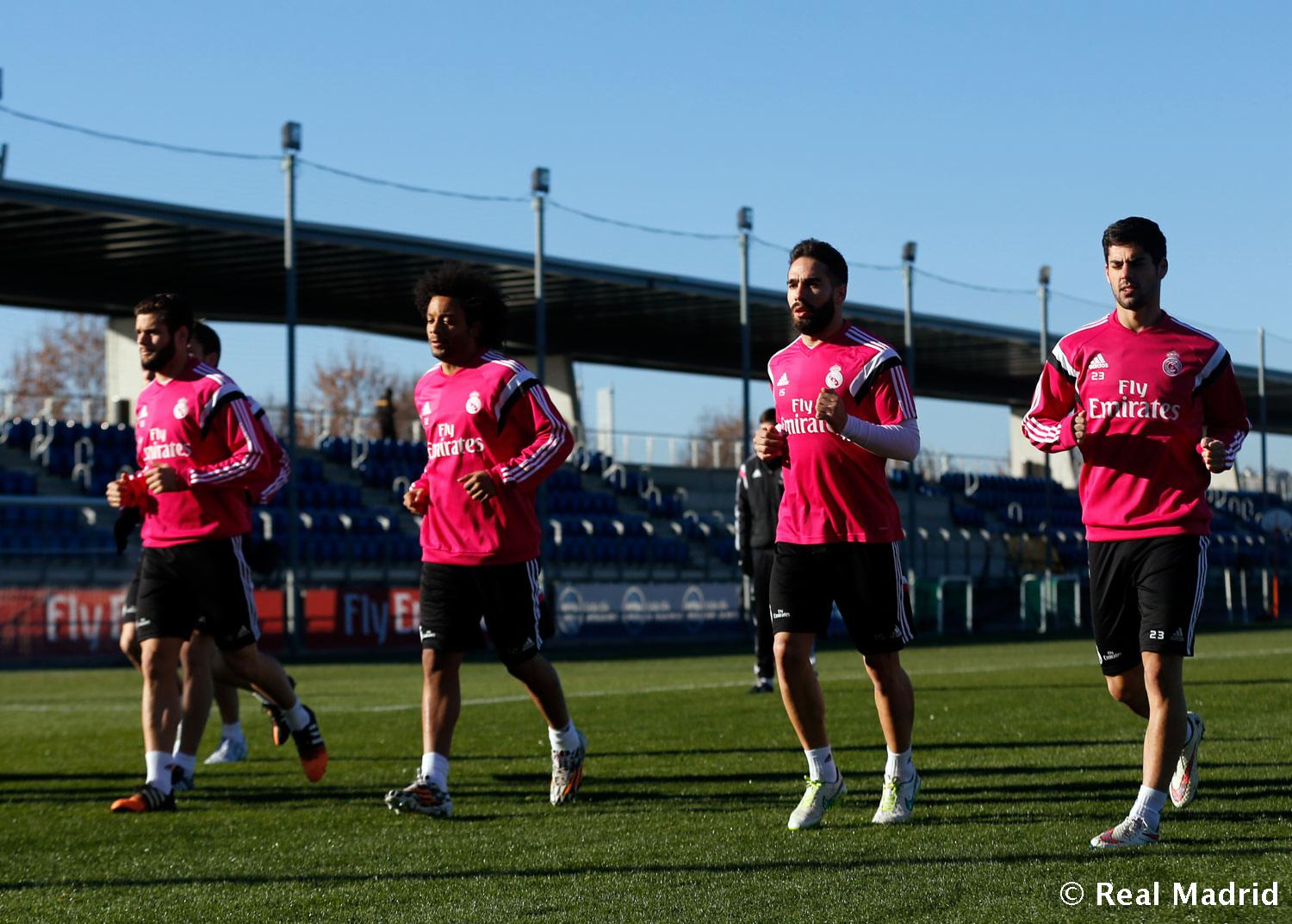 Real Madrid - Entrenamiento del Real Madrid - 12-01-2015