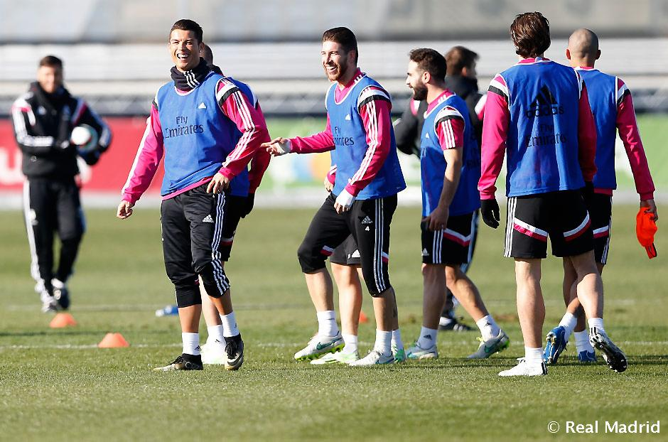 Real Madrid - Entrenamiento del Real Madrid - 13-01-2015