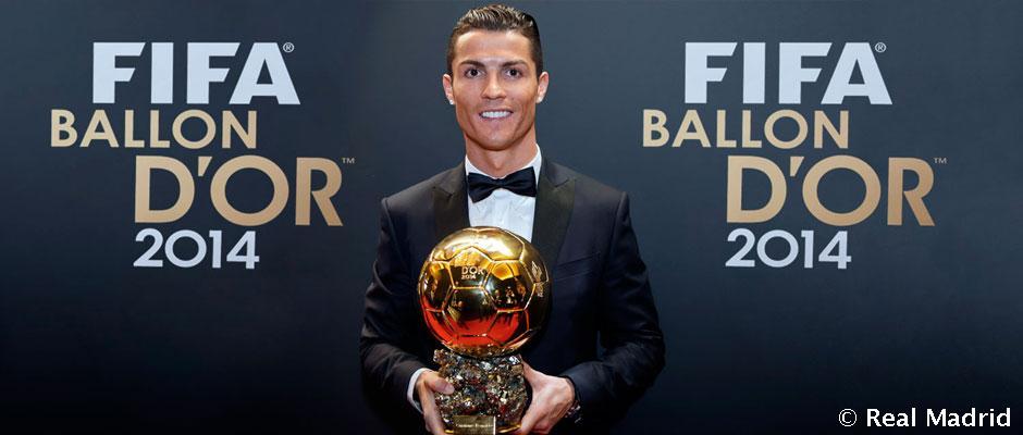Cristiano Ronaldo Wins His Third Ballon DOr