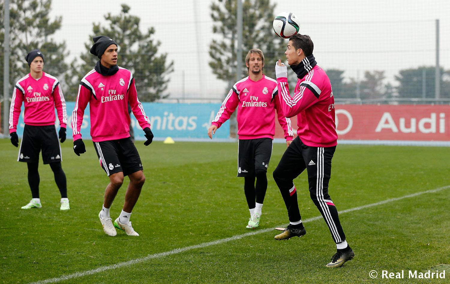 Real Madrid - Entrenamiento del Real Madrid - 14-01-2015