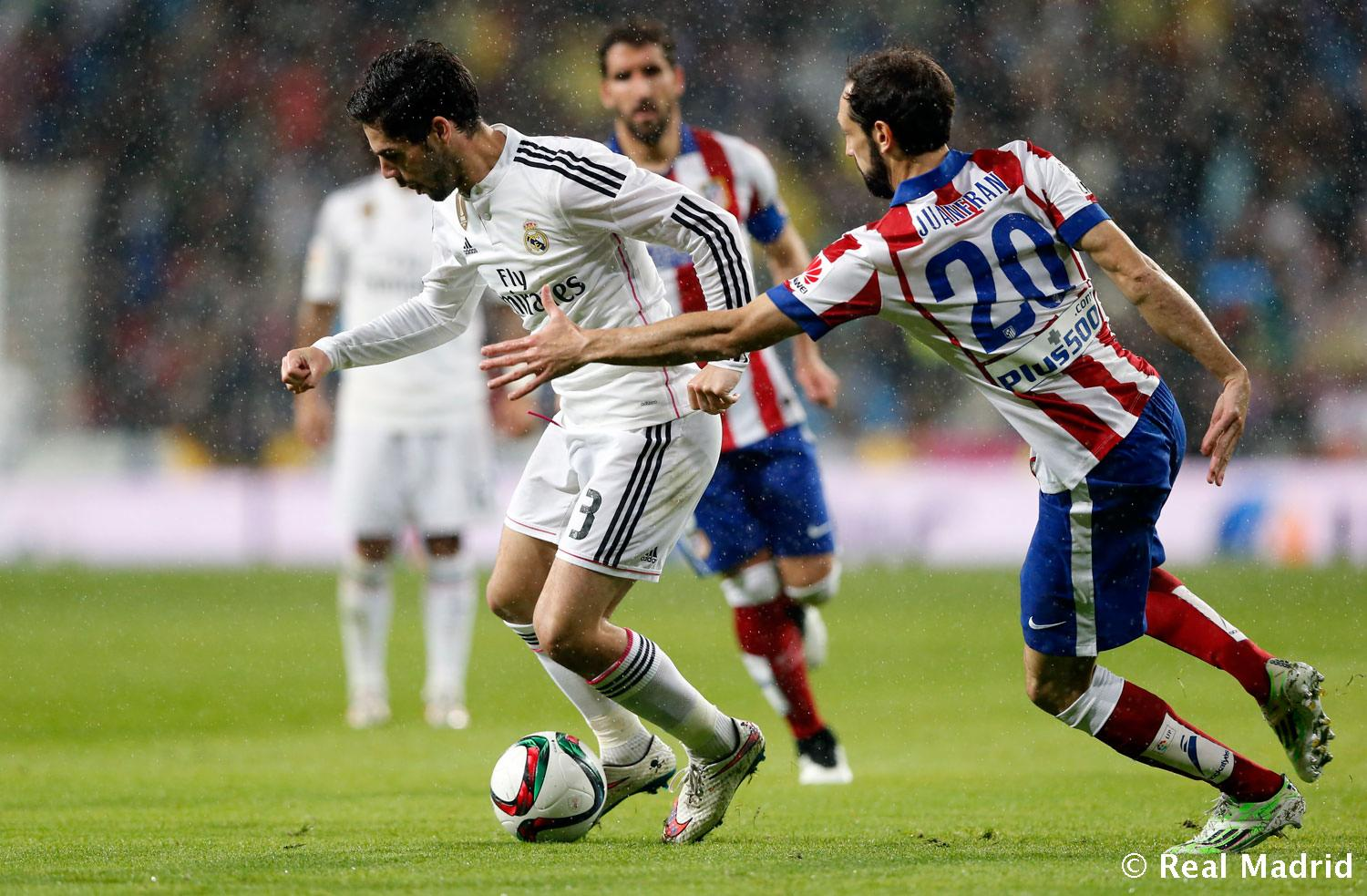 Real Madrid - Real Madrid - Atlético de Madrid - 15-01-2015