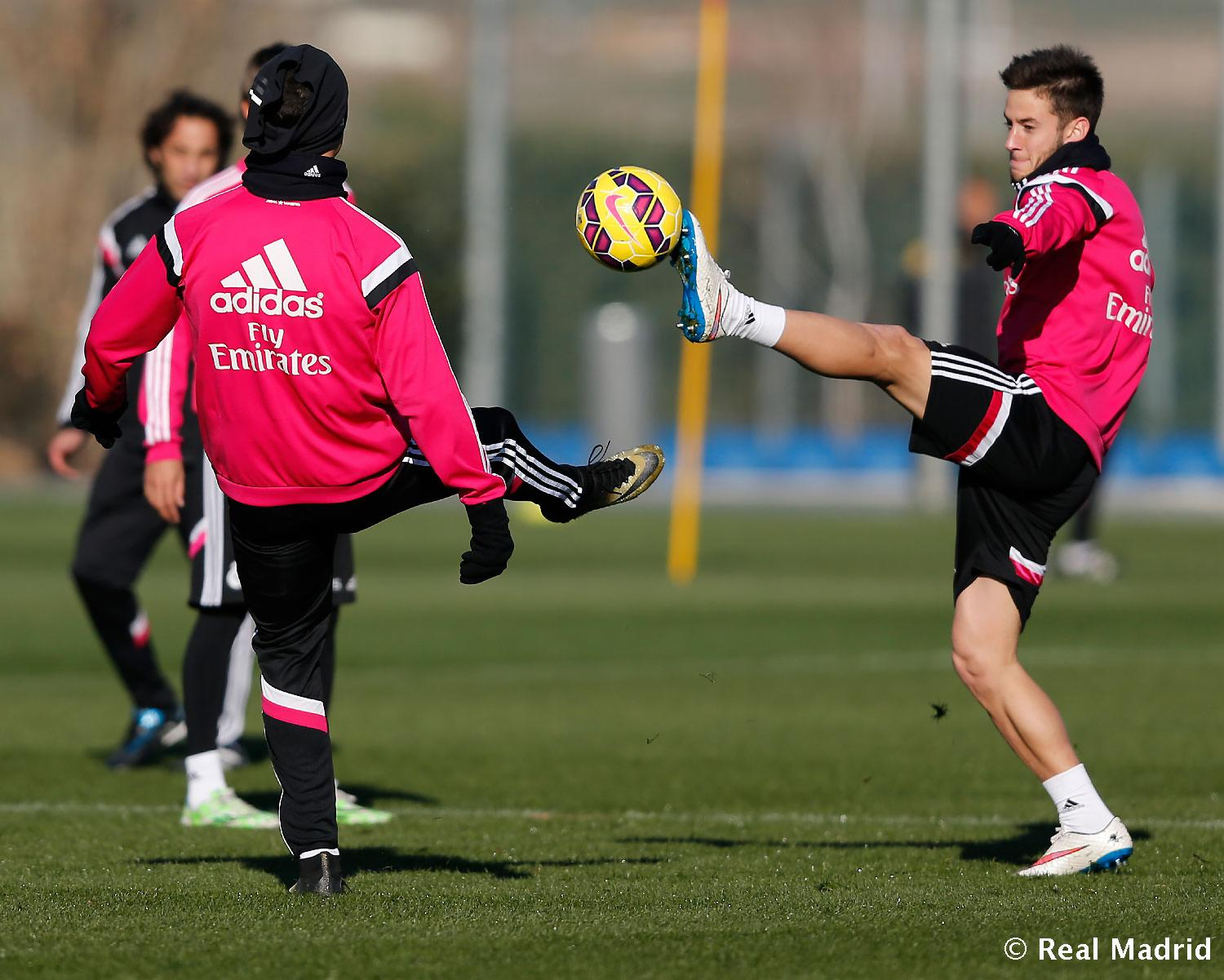 Real Madrid - Entrenamiento del Real Madrid - 17-01-2015