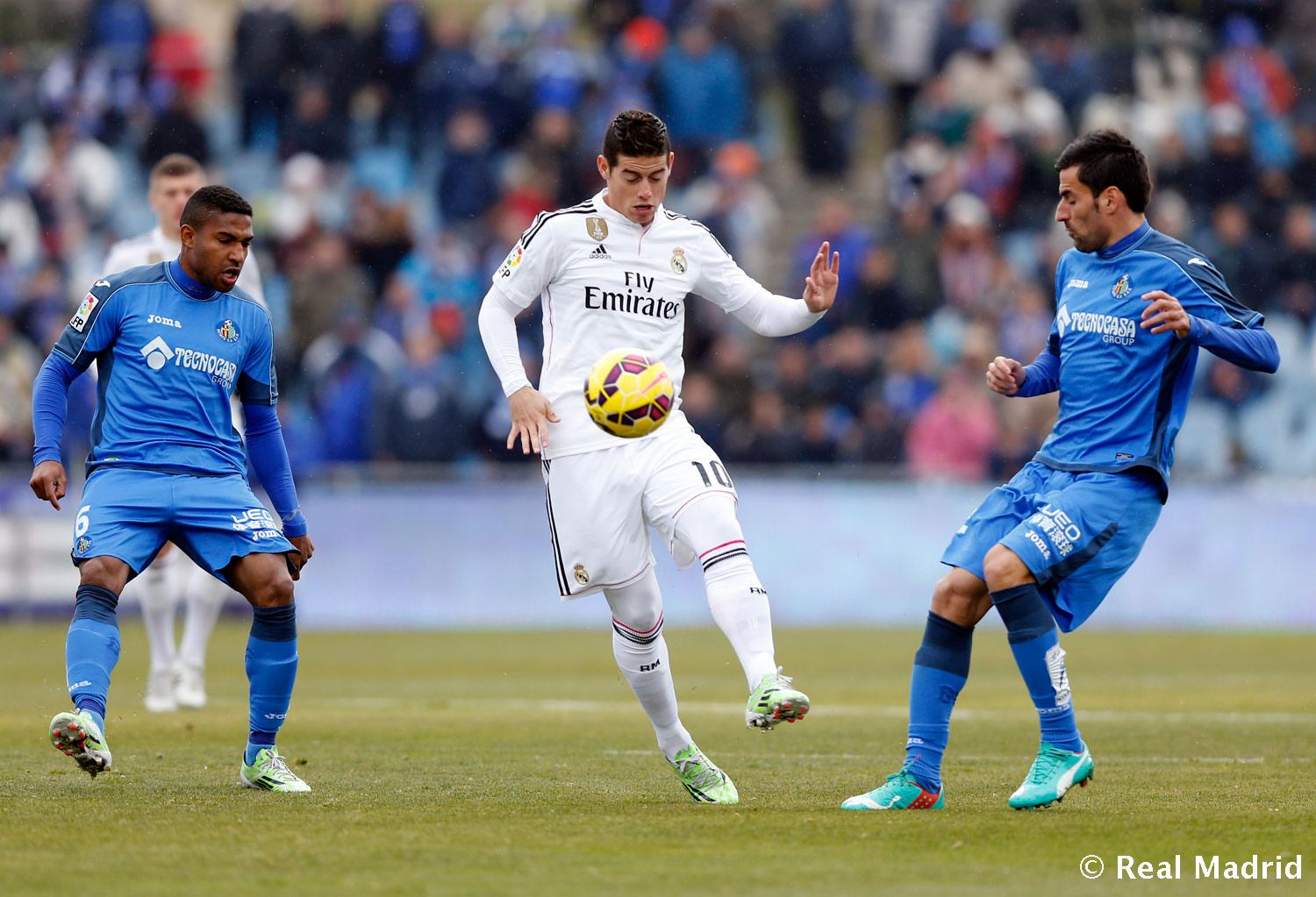 Real Madrid - Getafe - Real Madrid - 18-01-2015