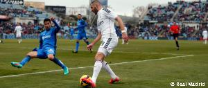 Benzema's sensational move leading to the first goal against Getafe