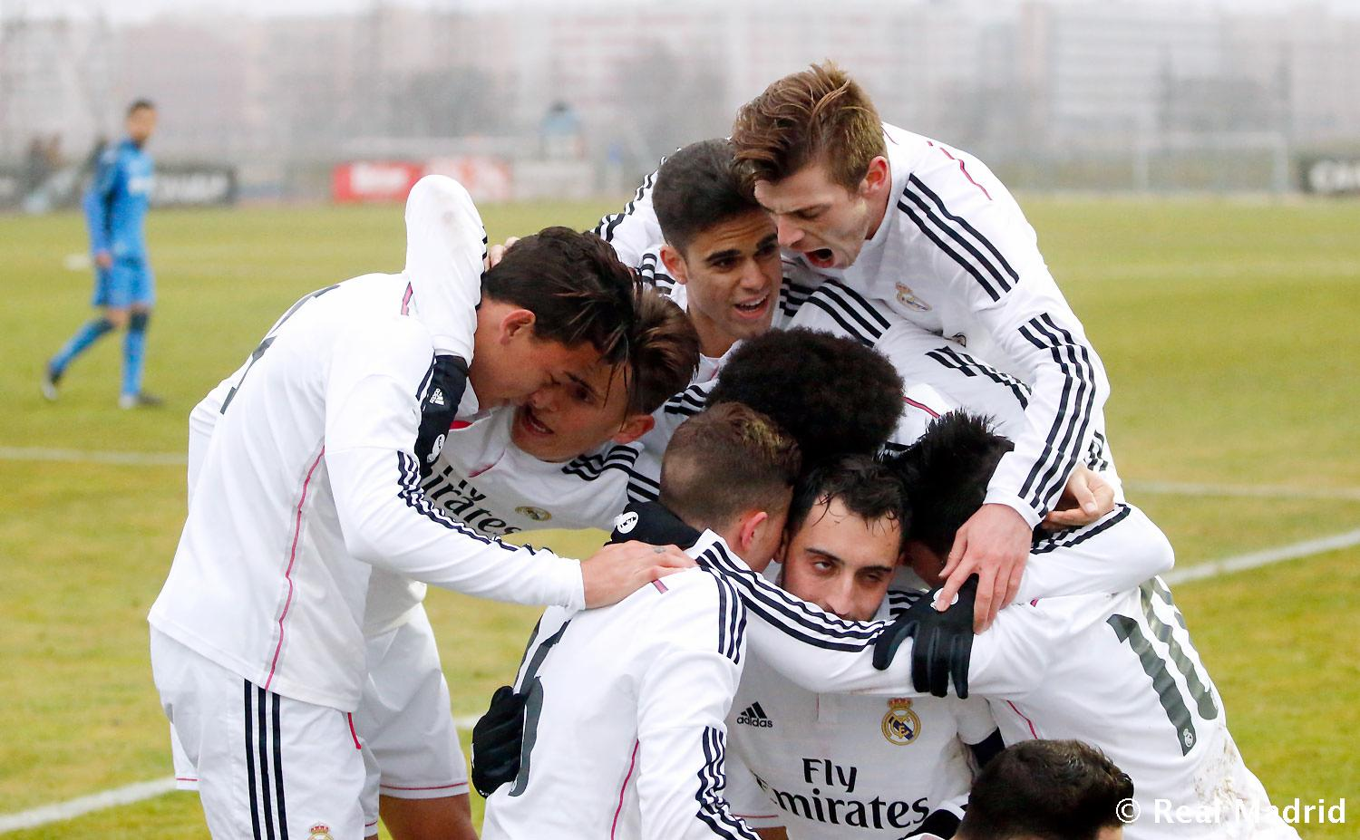 Real Madrid - Getafe B - Real Madrid Castilla - 18-01-2015