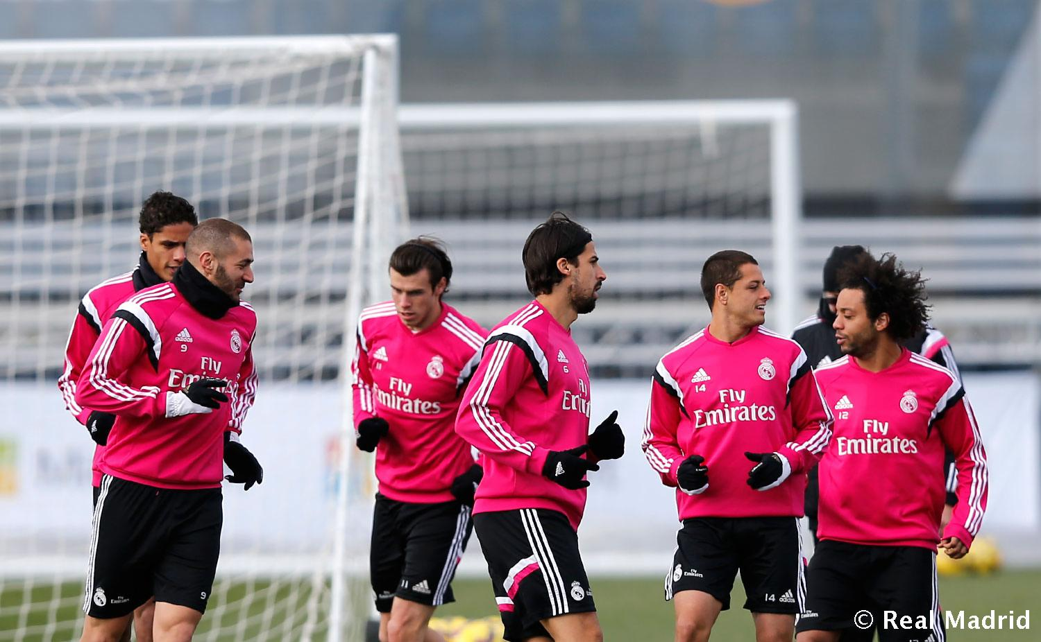 Real Madrid - Entrenamiento del Real Madrid - 21-01-2015