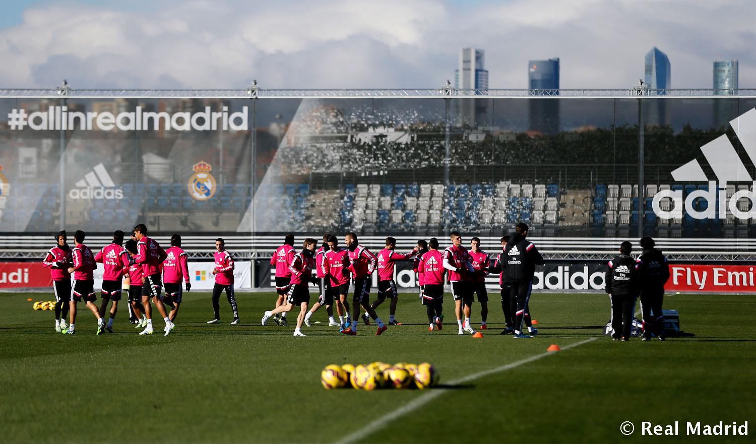 Real Madrid - Entrenamiento del Real Madrid - 22-01-2015