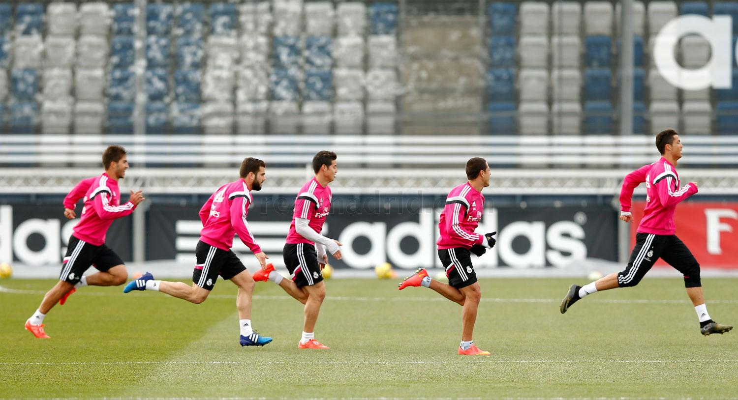 Real Madrid - Entrenamiento del Real Madrid - 26-01-2015
