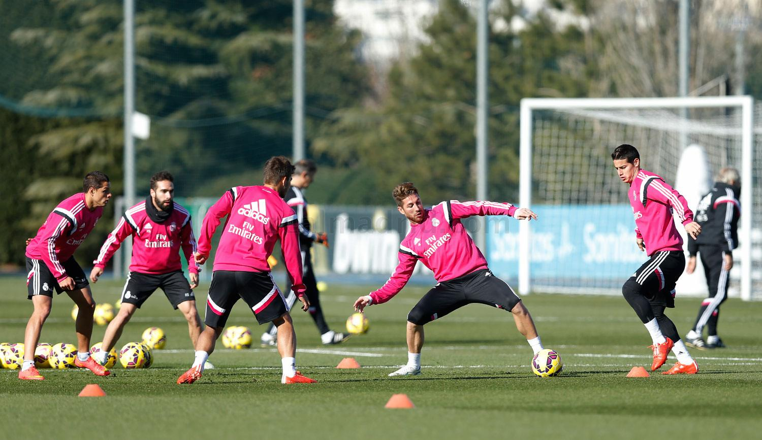 Real Madrid - Entrenamiento del Real Madrid - 27-01-2015
