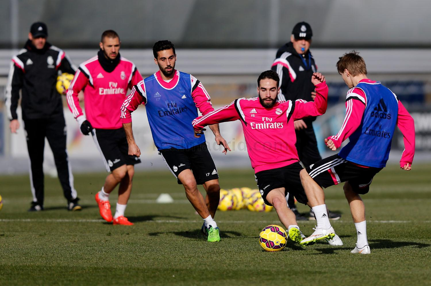 Real Madrid - Entrenamiento del Real Madrid - 29-01-2015