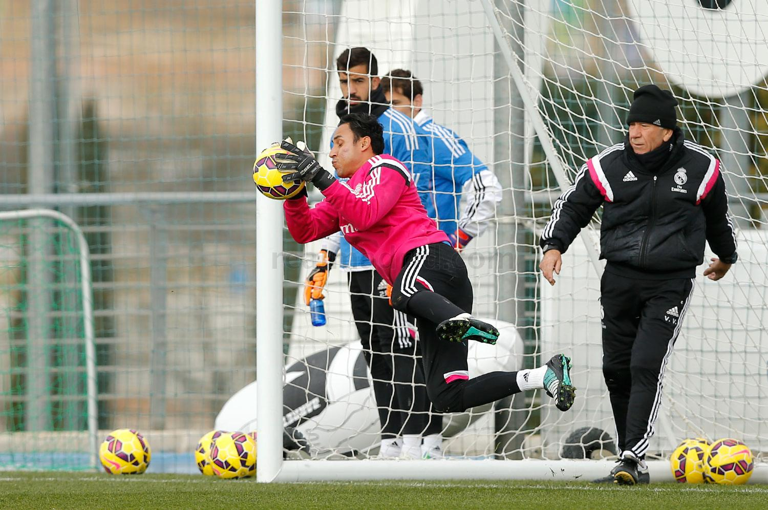 Real Madrid - Entrenamiento del Real Madrid - 30-01-2015
