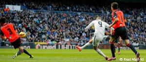 Benzema's great goal into the top corner against Real Sociedad